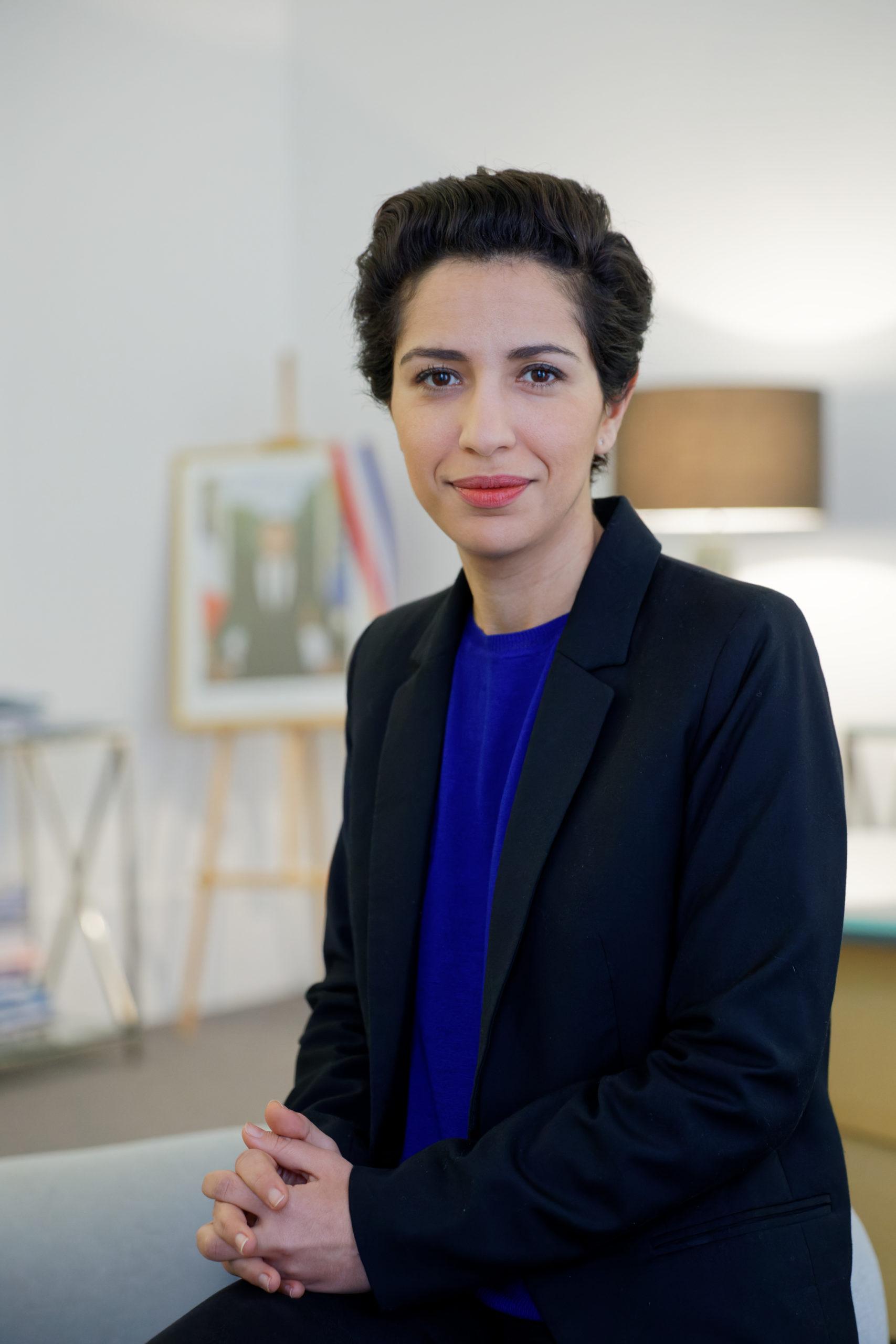 Mme Sarah El Haïry, Secrétaire d'État chargée de la Jeunesse et de l'Engagement - ©Philippe Devernay